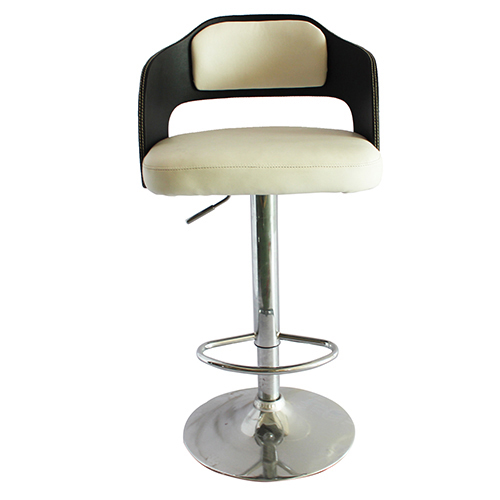 Multilayer Wooden Board Gas Lift Bar Stool Victor