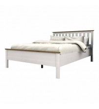 Abelina Mellow White Queen Bed Frame