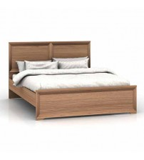 Mariza Saxon Oak Queen Bed Frame