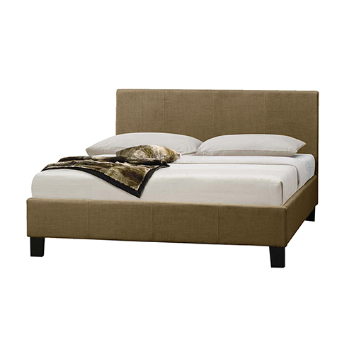 Mondeo Fabric Upholstered Queen Bed in Multiple Colours