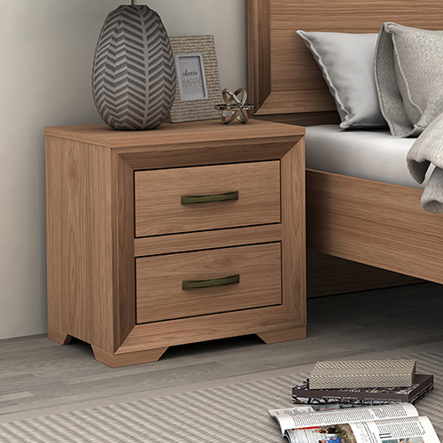 Mariza Saxon Oak Bedside Table