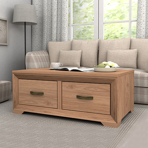 Mariza Saxon Oak Coffee Table