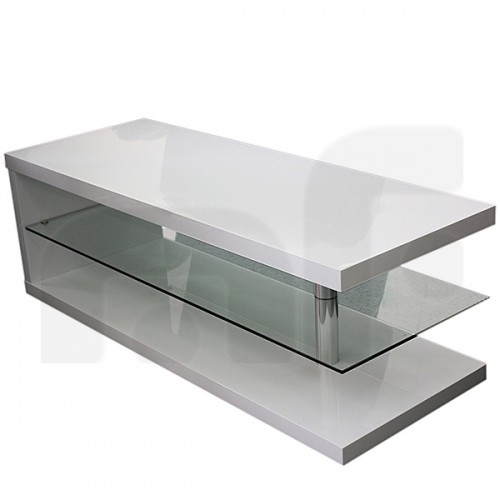 Zenta MDF White Coffee Table