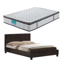 Mondeo Bed with Latex Pillowtop Mattress