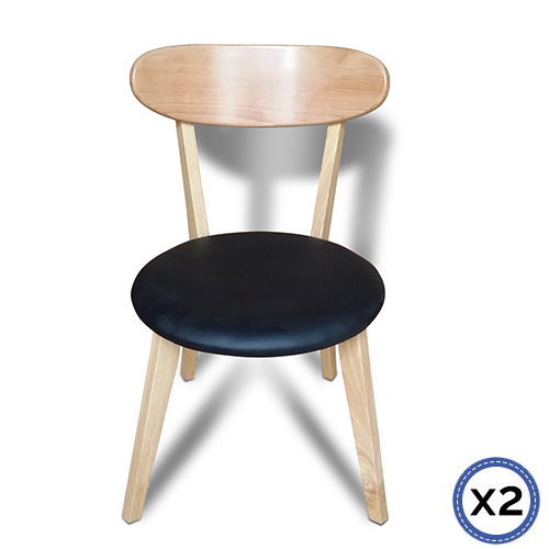 Modern Black ELSA dining Chair