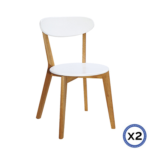 Modern White ELSA dining Chair