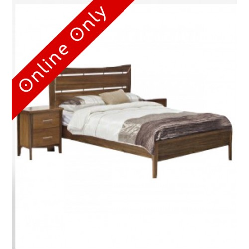 Avoka Solid Tasmanian Blackwood Bed