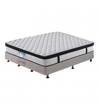 Eurotop Pocket Spring Mattress with Natural Latex