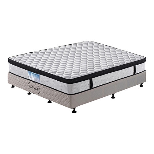Eurotop Pocket Spring King Mattress with Natural Latex
