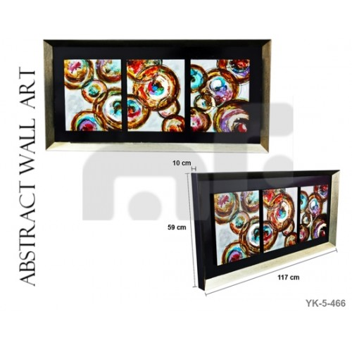 Stylish Wall Art Oil Painting Wooden Frame Melbourne