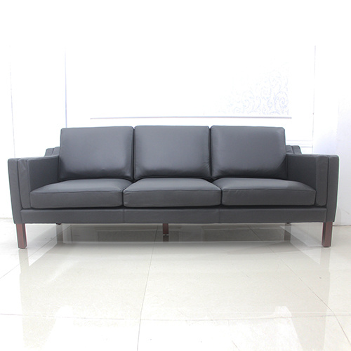 Retro Design Black Borge Mogensen Sofa
