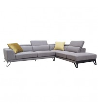 Chelsea Fabric Cover Light Grey Sofa