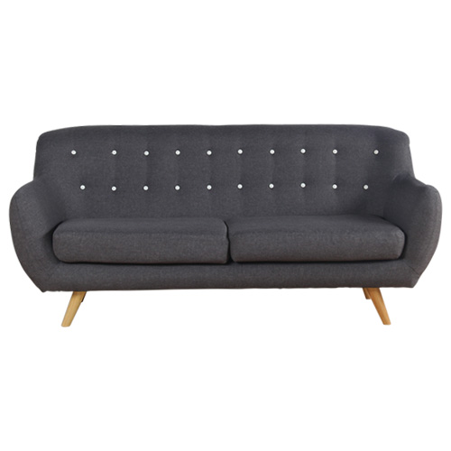 Sixty Charcoal Sofa with Fabric Cover