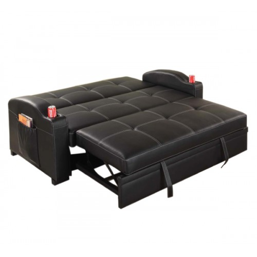 Maple Sofa Bed Black Melbournians Furniture