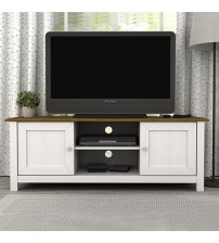 Abelina Mellow White TV Cabinet