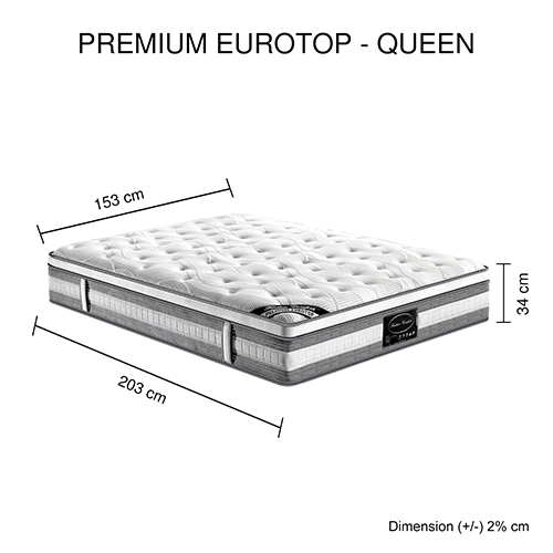 Euro latex mattress ebay