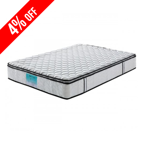 Pillow Top Pocket Spring Queen Mattress with Natural Latex