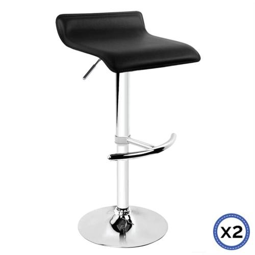 Brilliant Faux Leather Chrome Base Gas Lift Bar Stool Mika Machost Co Dining Chair Design Ideas Machostcouk