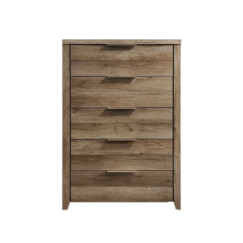 Alice Oak Colour Tallboy