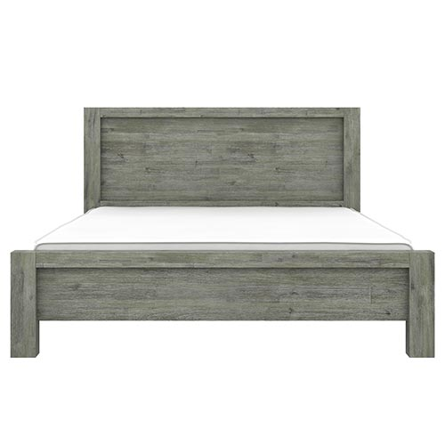 Acacia Turkish Green Queen Size Bed Frame
