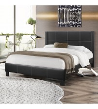 Albany Black Queen Bed