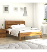 Austin Almond Colour Queen Bed Frame