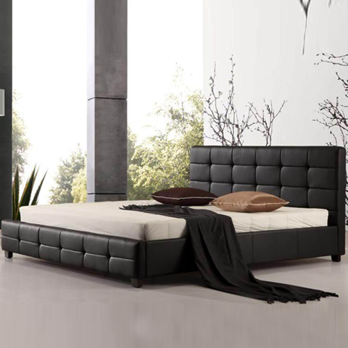Buy Bravo Leatherette Bed Online in Melbourne Australia : BED BRV 500x500 from www.melbourniansfurniture.com.au size 500 x 500 jpeg 140kB