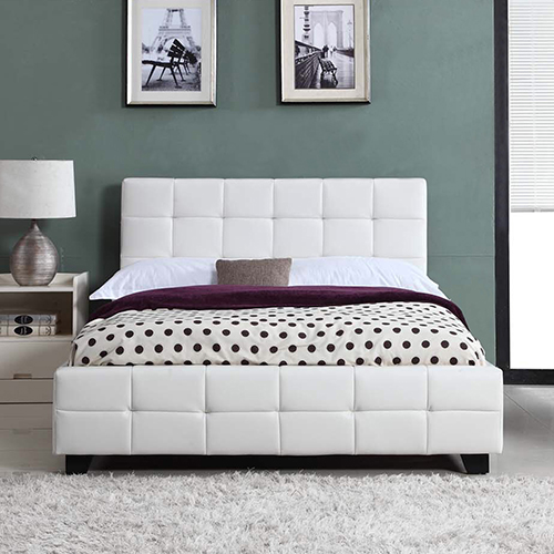 Bravo Bed with Latex Pillowtop Mattress