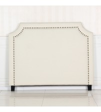 Julia Fabric Headboard with Metal Studded buttons