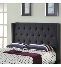 Milano Queen Charcoal Headboard