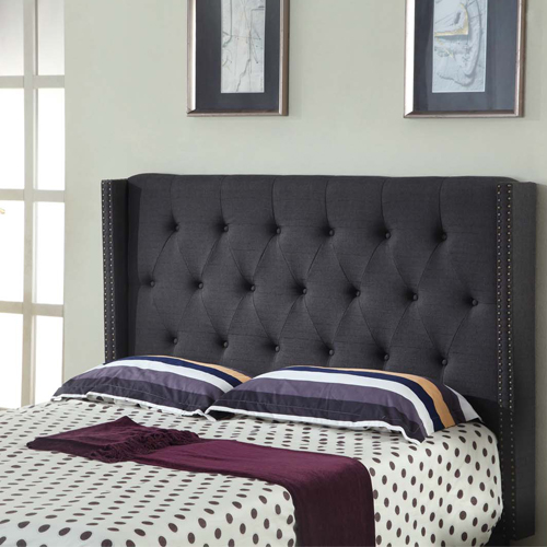 Cheapest Online Furniture: Buy Sean Fabric Bed Headboard Online In Melbourne, Australia