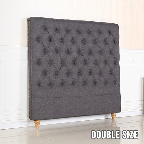 Sean Double Fabric Bed Headboard in Provincial Design