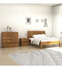 Austin 4 pcs Queen Bedroom Suite in Almond Colour