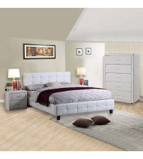 Bondi Bedroom Suite 4 pcs in Multiple Size & Colour