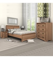 Mariza Saxon Oak Bedroom Suite