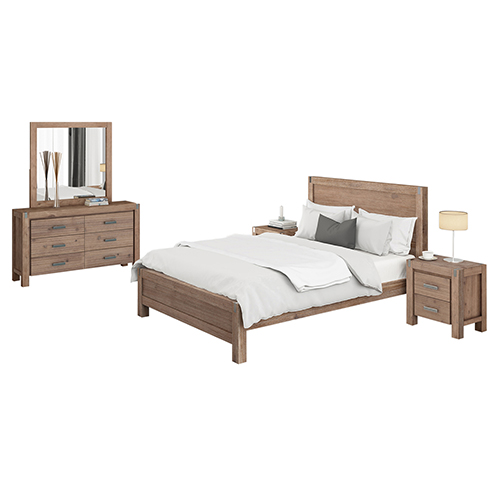 Nowra Bedroom Suite 4 pcs in Multiple Size & Colour