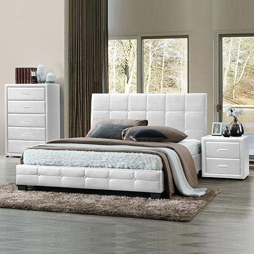 Soho 4 pcs Bedroom Suite in Multiple Size & Colour