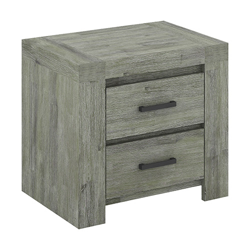 Acacia Turkish Green Bedside Table