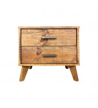 Cob&Co Bedside Table Rustic Colour