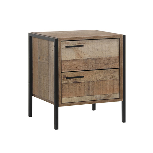 Mascot Bedside Table Oak Colour