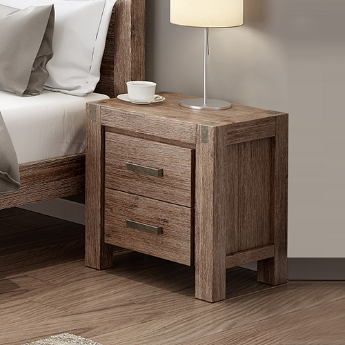 Nowra Oak Colour Bedside Table