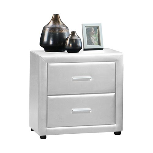 Soho PU Leather Bedside Table