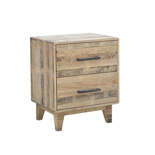 Woodstock Wood Nature Bedside Table