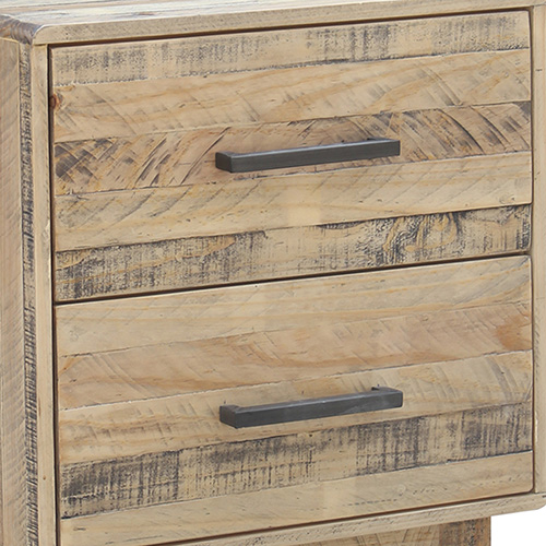 Wood Nature Colour Bedside Table