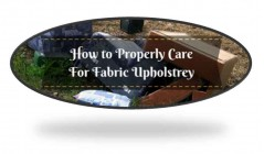 Furniture Care Instruction (Fabric, Leather and Wood)