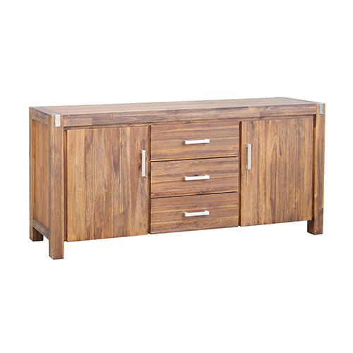 Brushed Walnut Colour Buffet