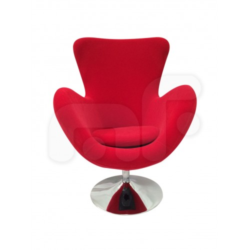 Miranda Designer Egg Chair Cashmere Fabric