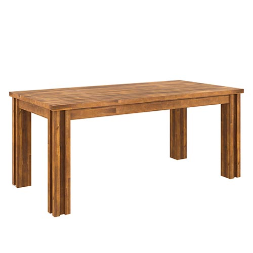 Austin Almond Colour Dining Table With 6X Chair