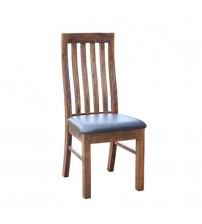 Brushed Walnut Colour 2X Dining Chair