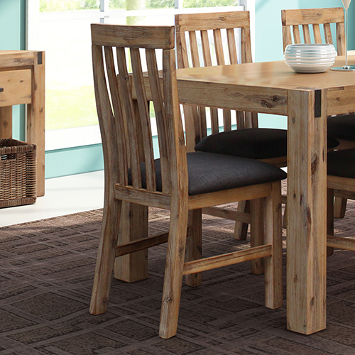 Nowra Oak 2X Dining Chairs